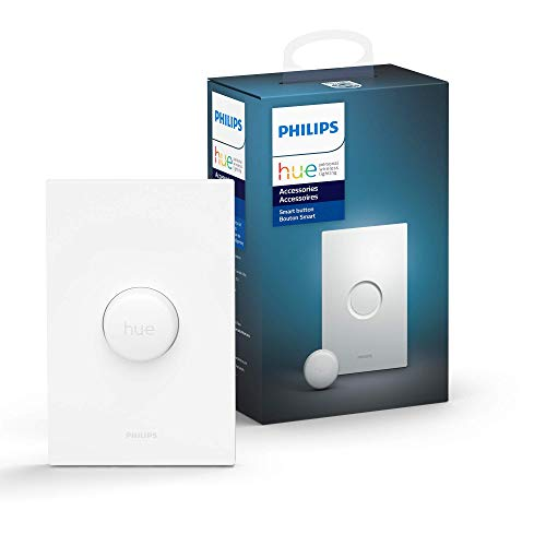 Philips Hue Smart Button for Hue Smart Lights, Smart Light Control, (Hue Hub required)