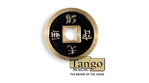 MTS Dollar Size Chinese Coin (Black) by Tango (CH029)