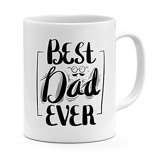 Best dad ever Mug fathers day gift for dads i love you dad novelty mug ceramic mug for dads 11oz-15oz coffee mug for fathers children - Gifts Day Nerdy Fathers