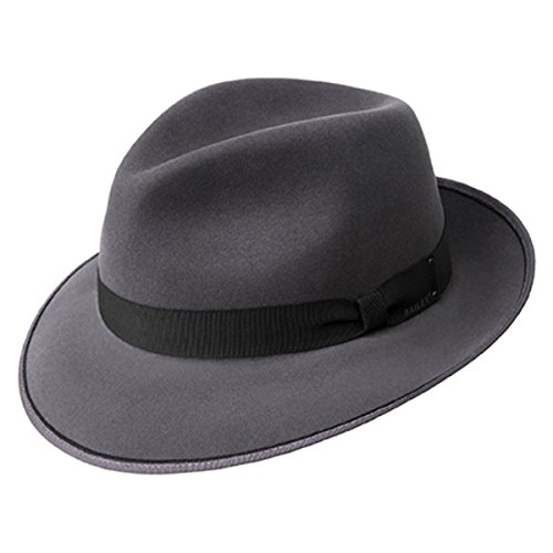 Bailey Benny Cashlux Hat- Graphite, Large
