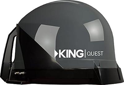 KING Tailgater Portable/Roof Mountable Satellite TV Antenna