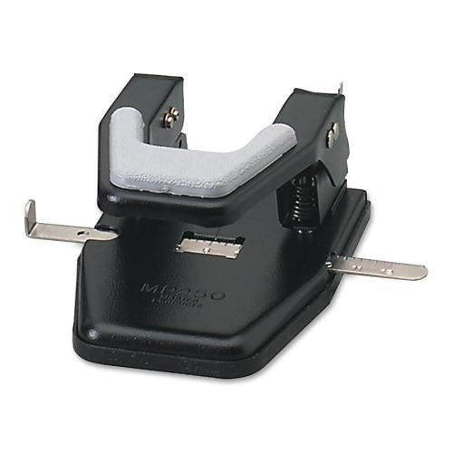 MP250 Master Master Two-Hole Padded Punch - 2 Punch Head(s) - 40 Sheet Capacity - 9/32
