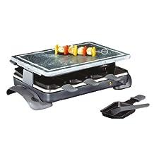 Küchenprofi 17 4000 00 00 Appareil à raclette/pierrade (Import Allemagne)