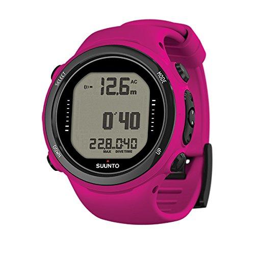 Aqua Lung Suunto D4L Novo Pink Scuba Computer Watch with USB