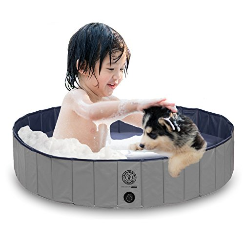 KOPEKS Outdoor Swimming Pool Bathing Tub – Portable Foldable – Ideal for Pets