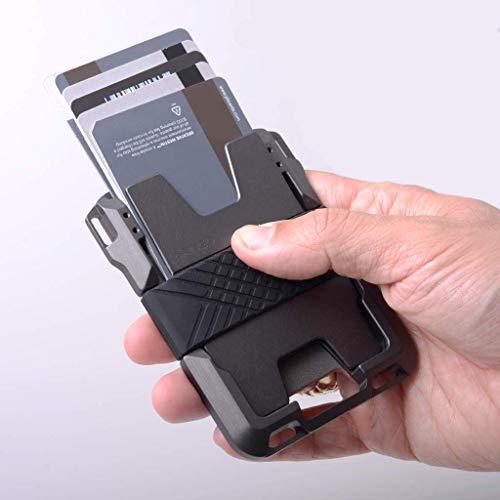 Dango M1 Maverick Wallet - Jet Black/Slate Grey - Made in USA