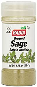 Badia Sage Ground, 1.25-Ounce (Pack of 12)