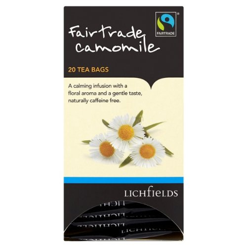 Lichfields Fairtrade Kamille 20 Teebeutel 30g