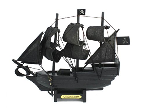 Hampton Nautical  Flying Dutchman Model Pirate Ship, 7