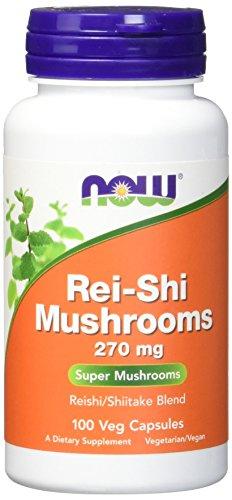 NOW Rei Shi Mushrooms 270 Capsules