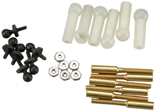 Great Planes Threaded Ball Link Set (Scale 1/16) (Set of 6)