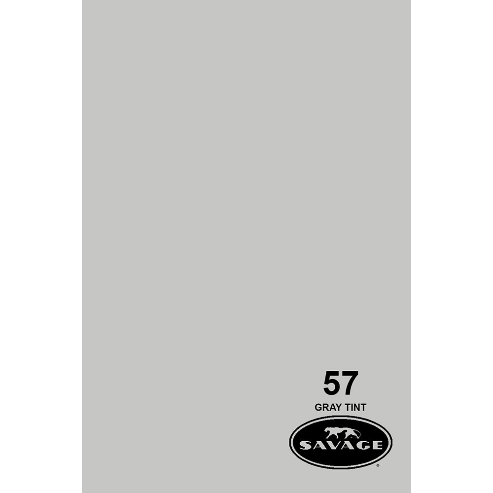 Savage Background Paper Gray Tint No.57 53 in. SA571253