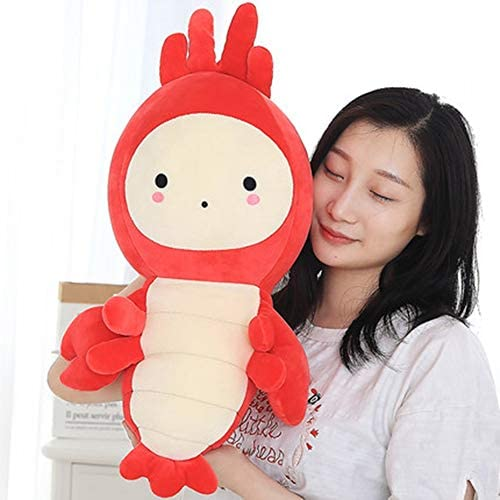 Kreeft Baby Knuffel Doll Doll Cute Sleeping Girl Doll Girl Pillow Long Strip Pillow 50cm