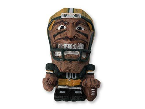 (Forever Collectibles Green Bay Packers EEKEEZ Tiki Style Figurine)
