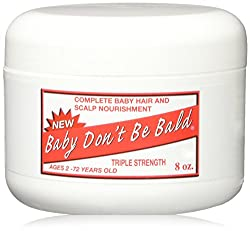 Image of the product Baby Dont Be Bald Hair & that is listed on the catalogue brand of Baby Don't Be Bald.