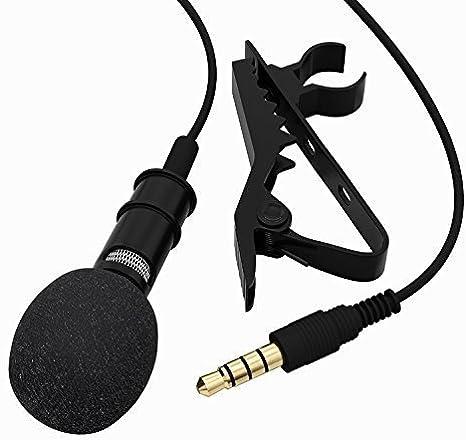 TONOR Micrófono de Solapa 3.5mm Estéreo Omnidirectional ...