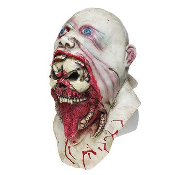 DucTM Zombie Latex Mask Digital Amazing Halloween Makeup - 1PCs