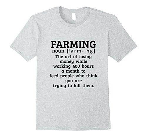 Mens Funny Farming T-Shirt Gift Farmer The Art