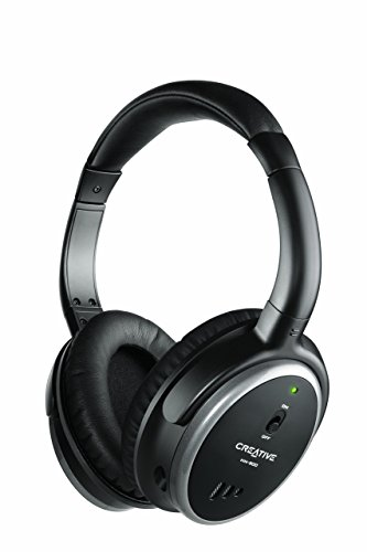 Creative HN-900 Noise Cancelling Headphones (Certified Refurbished) - Creative Labs Over The Ear Headphone