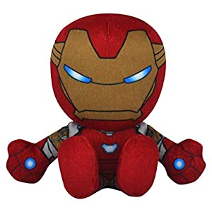 Bleacher Creatures Marvel Iron Man 8″ Kuricha Sitting Plush – Soft Chibi Inspired Toy