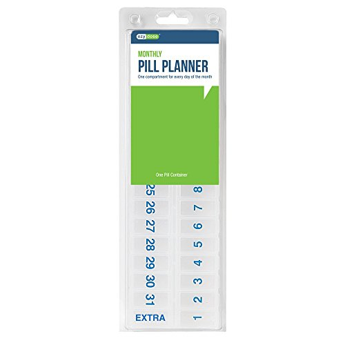 Ezy Dose Monthly Pill Planner (Monthly Medication)