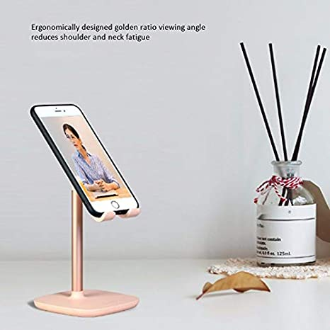 Household Portable Stand with Adjustable Angle Design,Suitable for Mobile Devices up to 7-9 Inches EAHKGmh Phone Holder,Multifunctional Tablet Support Stand Color : A