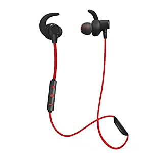 fleeken bluetooth 4 1 wireless stereo sport headphones noise cancelling sweatproof. Black Bedroom Furniture Sets. Home Design Ideas