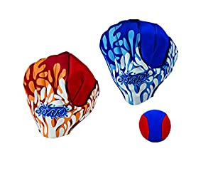 Outdoor Fun Original Water Sports Ball & Glove Set - Water Resistant - for Kids - Includes 2 Gloves and 1 Ball, Colors May Vary