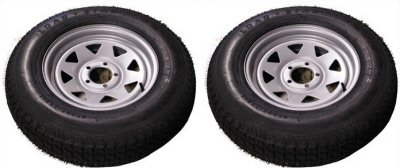 ST205/75 D15 TRITON CLASS C TRAILER TIRE - Pair by Triton