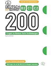 Deutsch mit Schmidt - 200 Fragen zu Nomen-Verb-Verbindungen B2 C1 C2
