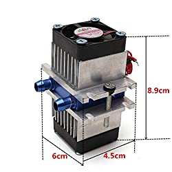 Nrthtri smt DIY Thermoelectric Peltier Semiconductor Refrigeration Cooling System + Fan Kit Eater