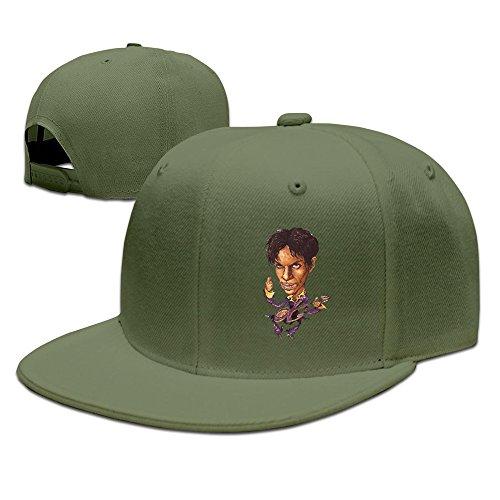 (100% Cotton Baseball Hat Prince)