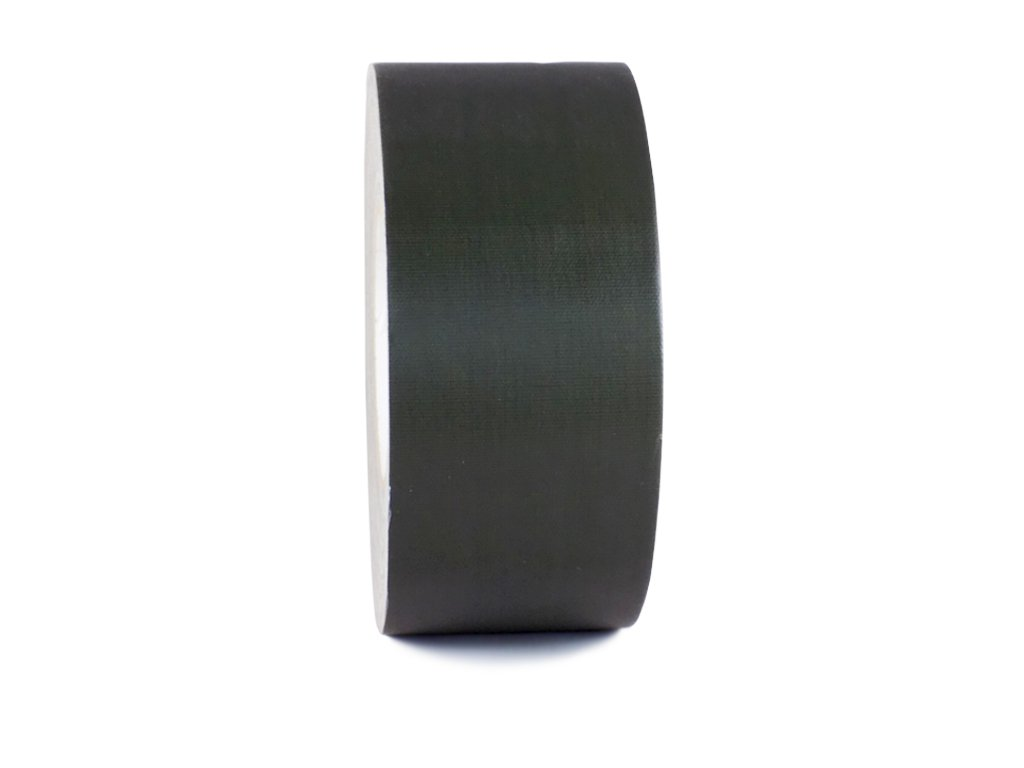 T.R.U. CGT-80 Olive Drab Gaffers Stage Tape with Rubber Adhesive, 3 in. wide x 60 Yards length, 12MIL Thickness (Pack of 16)