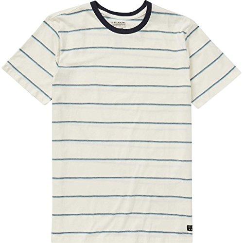 Billabong Boys' Die Cut Stripe Crew T-Shirt Salt (Die Cut Top)