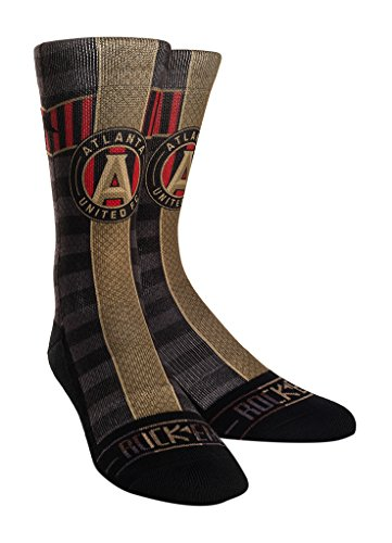 MLS Atlanta United FC Custom Athletic Crew Socks, Youth, Jersey Series