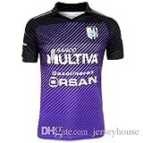 1 Pieza de mens Querétaro 2017 tercer jersey morado Tercera camisetas de Queretaro 2017 liga mx clausura