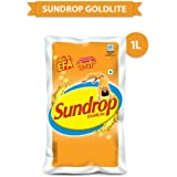 Sundrop Goldlite Corn and Sunflower Oil, 1L