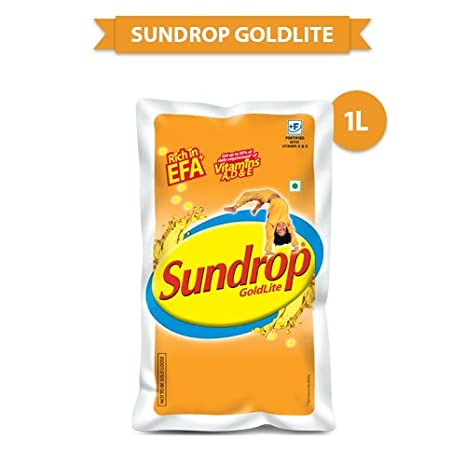 Sundrop Goldlite Corn and Sunflower Oil, 1L