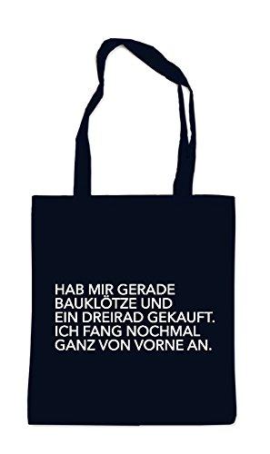 Hab Mir Gerade Bauklötze Gekauft Bag Black
