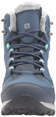 Blue Salomon 2 w Blue Kaina slateblue bubble Cs Snow Women's Boot Deep Waterproof Mid gqOfxqZwH