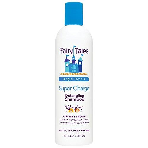 Fairy Tales Tangle Tamer Super Charge Detangling Shampoo for Kids - 12 oz