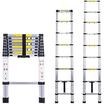 Myifan Telescopic Ladder Multi Purpose Aluminium