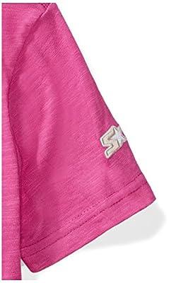 Starter Girls' Short Sleeve Mesh-Logo T-Shirt, Prime Exclusive