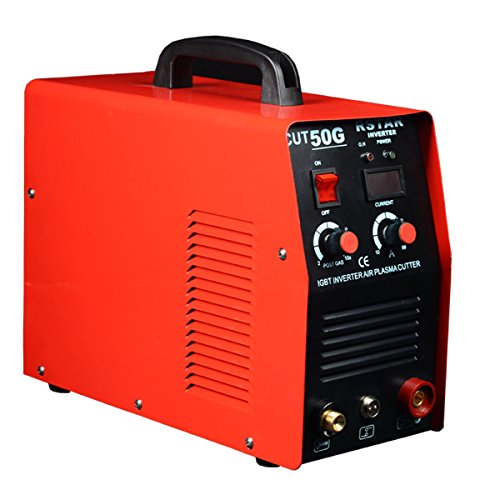 Rstar Igbt Inverter DC Air Plasma Cutter 50Amp Welding Machine Single phase 220v Industrial cut