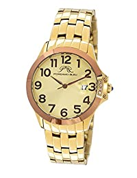 Porsamo Bleu Olivia Stainless Steel Gold Tone and Brown Women's Watch 983AOLS