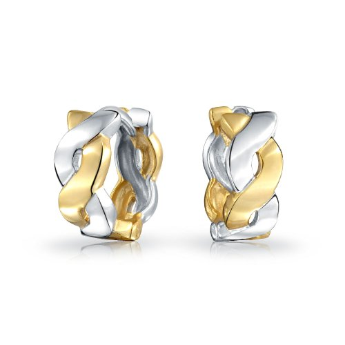 Bling Jewelry Plated Infinity Earrings product image