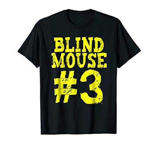 FUNNY GROUP COSTUME - Three Blind Mice #1 TShirt - HALLOWEEN