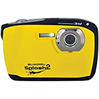 Bell+Howell Splash II WP16-Y 16MP Waterproof Digital Camera with 2.5-Inch LCD Screen (Yellow)