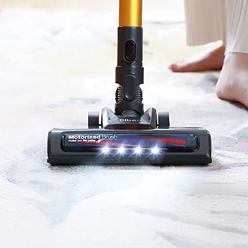 Interchangeable Roller Design, D18 Stick Vacuum Cleaner Vac Bagless Suction Dust