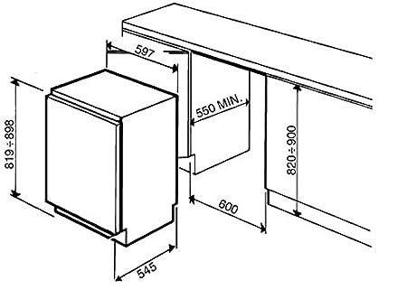 Smeg FL144P Integrado 143L A+ Blanco - Frigorífico (143 L, 40 dB ...